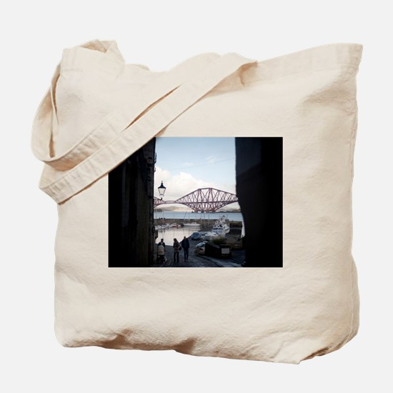 queensferry harbour Tote Bag