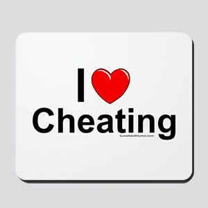 Cheating Mousepad