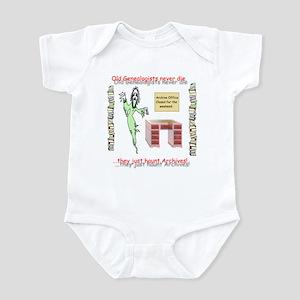 Genealogy Haunt the Archives Infant Bodysuit