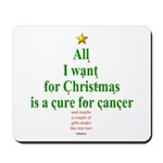 All I Want For Christmas Mousepad
