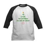 All I Want For Christmas Kids Baseball Jersey
