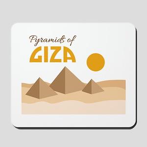 Pyramids Giza Mousepad