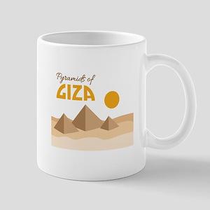 Pyramids Giza Mugs