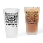 Point in Travel Drinking Glass