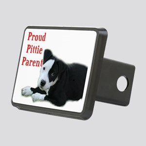 Proud Pittie Parent Rectangular Hitch Cover