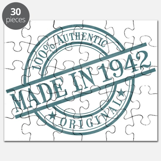 Made in 1942 Puzzle