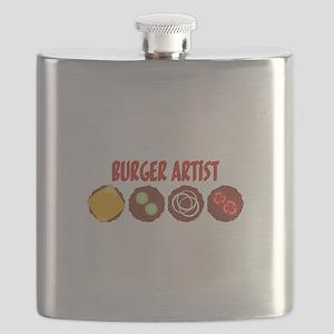 BURGER ARTIST Flask