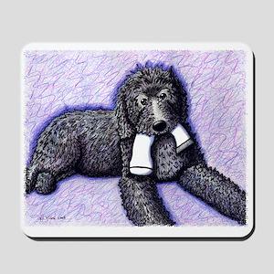 Black Doodle w/ Sock Mousepad