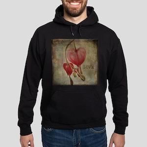 Bleeding hearts love Hoodie