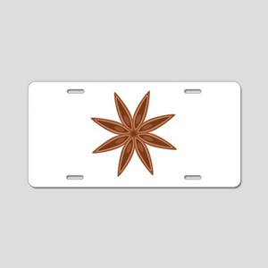 Star Anise Cooking Spice Aluminum License Plate