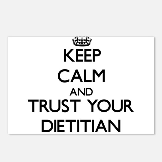 Keep Calm and Trust Your Dietitian Postcards (Pack