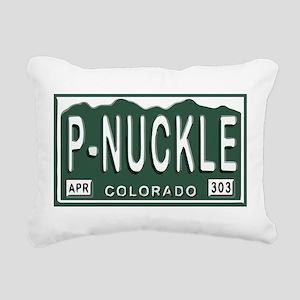 P-Nuckle Samples Rectangular Canvas Pillow