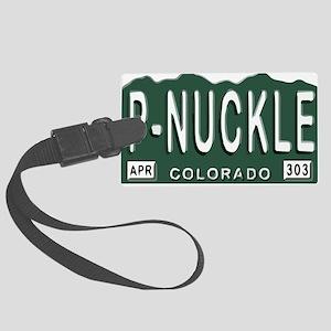 P-Nuckle samples Colorado Plates Luggage Tag