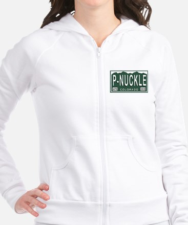 P-Nuckle Samples Colorado Plates Fitted Fitted Hoodie