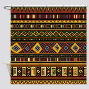 Southwest Weave Shower Curtain