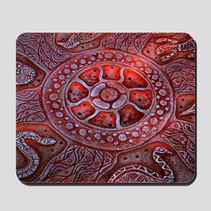 Medicine Wheel Totems Mousepad