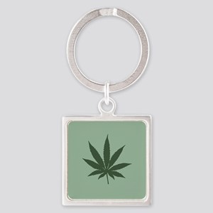 Pot Leaf Keychains