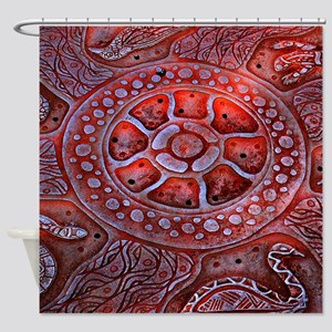 Medicine Wheel Totems Shower Curtain