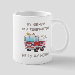 MY NEPHEW IS A FIREFIGHTER Mug