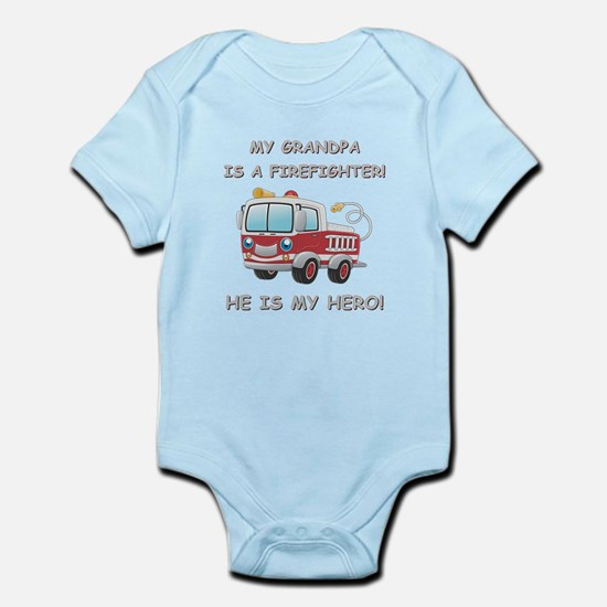 MY GRANDPA IS A FIREFIGHTER Infant Bodysuit