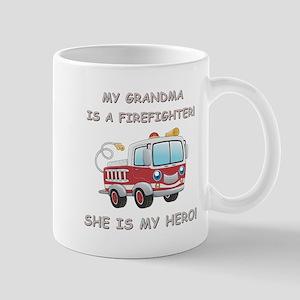 MY GRANDMA IS A FIREFIGHTER Mug
