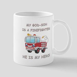 MY GOD-SON IS A FIREFIGHTER Mug