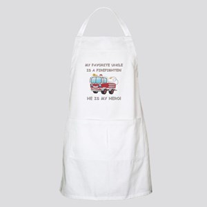 MY FAVORITE UNCLE IS A FIREFIGHTER Apron