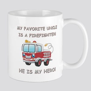 MY FAVORITE UNCLE IS A FIREFIGHTER Mug