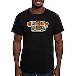 Whatiswonderfalls Men's Fitted T-Shirt (dark)