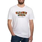 Whatiswonderfalls Men's Fitted T-Shirt