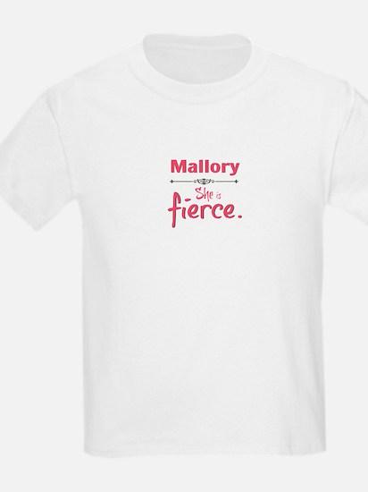 Mallory is fierce T-Shirt