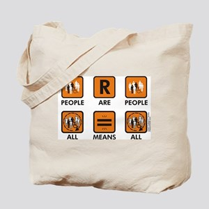 People Are People Tote Bag