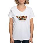 Whatiswonderfalls Women's V-Neck T-Shirt