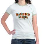 Whatiswonderfalls Jr. Ringer T-Shirt