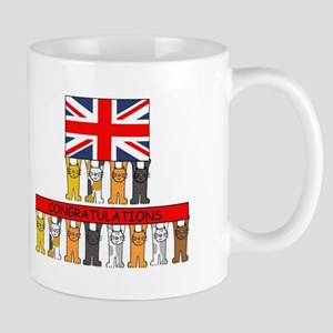 UK Citizenship Congratulations Mugs