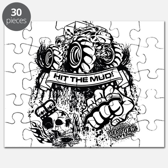 Hit The Mud Jeep Puzzle
