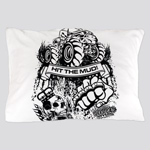 Hit The Mud Jeep Pillow Case
