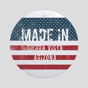 Made in Sierra Vista, Arizona Round Ornament