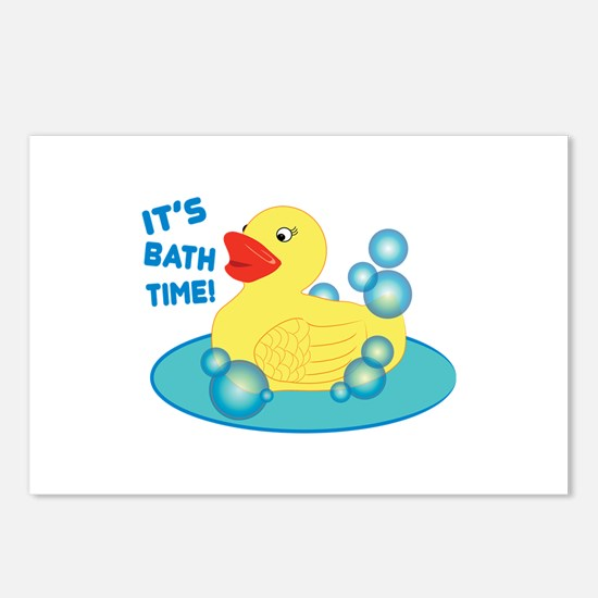 Its Bath Time! Postcards (Package of 8)