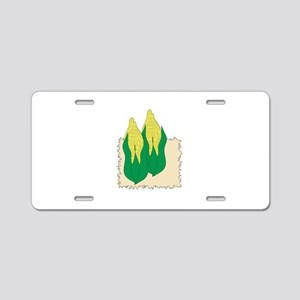 Corn On The Cob Aluminum License Plate