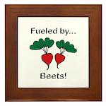 Fueled by Beets Framed Tile