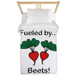 Fueled by Beets Twin Duvet