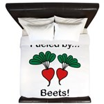 Fueled by Beets King Duvet