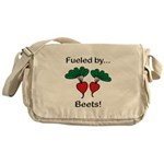 Fueled by Beets Messenger Bag