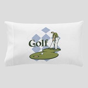 Classic Golf Pillow Case