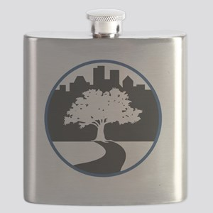 All Three Schools Flask