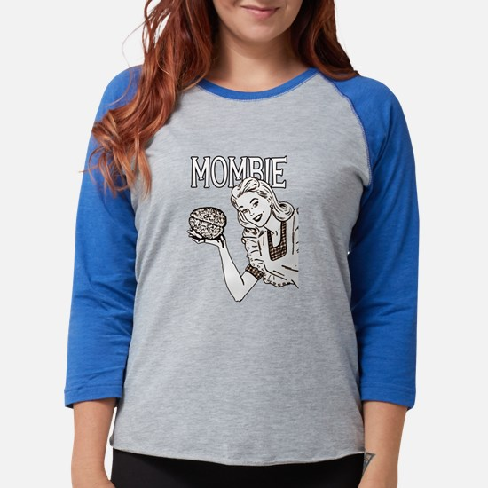 Mombie Retro Zombie Clr.png Long Sleeve T-Shirt