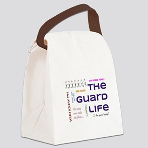 Guard Life Canvas Lunch Bag