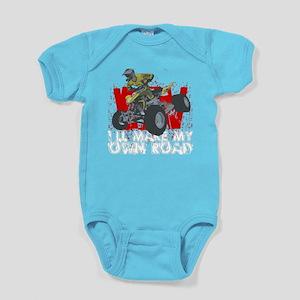 ATV My Own Road Baby Bodysuit