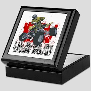 ATV My Own Road Keepsake Box